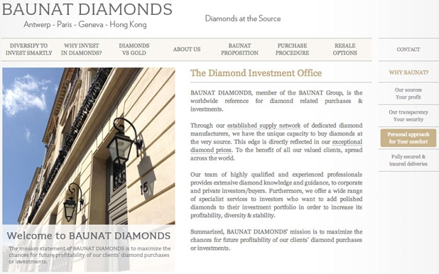 Baunat Diamonds